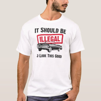 1959 Chevrolet Impala Convertible T-Shirt