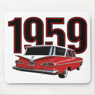 1959 Chevrolet station wagon Mouse Pad