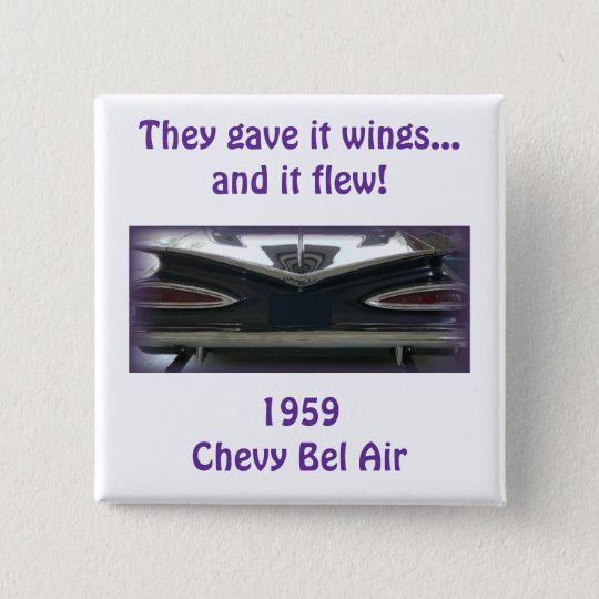 1959 Chevy Bel Air Pinback Button