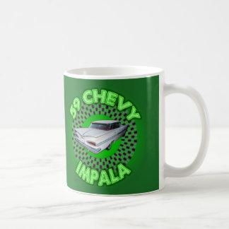 1959 Chevy Impala Mug. Classic White Coffee Mug