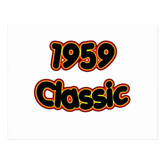 1959 Classic Postcard