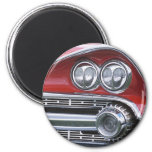 1959 Dodge Classic Car Grill Photograph Magnet