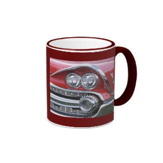 1959 Dodge Classic Car Grill Photograph Coffee Mugs