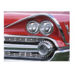 1959 Dodge Classic Car Grill Photograph Postcards
