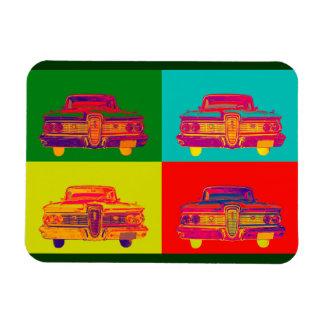 1959 Edsel Ford Ranger Colorful Car Pop Art Vinyl Magnet
