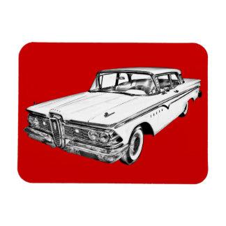 1959 Edsel Ford Ranger Illustration Rectangular Magnet
