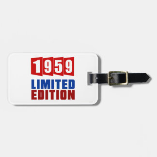 1959 Limited Edition Travel Bag Tags