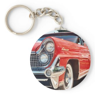1959 Lincoln Continental Convertible Keychain keychain