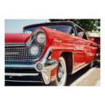 1959 Lincoln Continental Convertible Poster