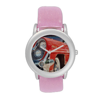 1959 Lincoln Glitter with Pink Glitter Strap Wristwatches