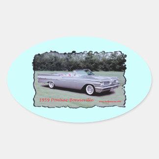 1959_Pontiac_Bonneville Oval Sticker