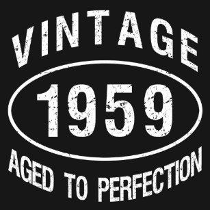 44f26bf3b Born In 1959 T-Shirts - T-Shirt Design & Printing   Zazzle