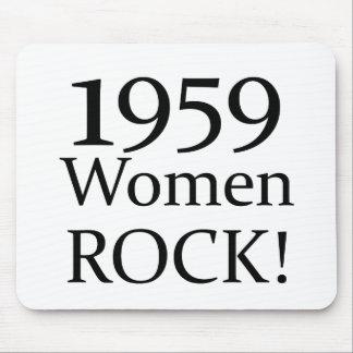 1959 Women Rock! Mouse Pad