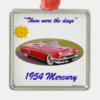 195 4Mercury Metal Ornament