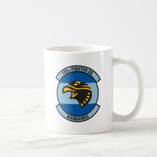 195th Warhawks Fighter Squadron Coffee Mug