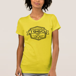 1960 Aged To Perfection Clothing Tshirts