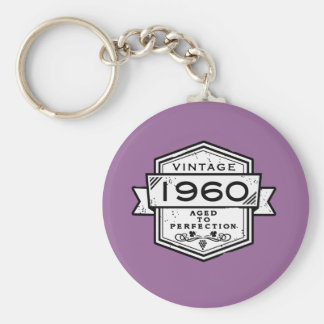 1960 Aged To Perfection Keychains