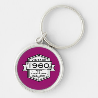 1960 Aged To Perfection Keychain