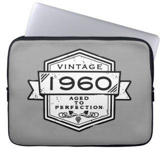 1960 Aged To Perfection Laptop Sleeve