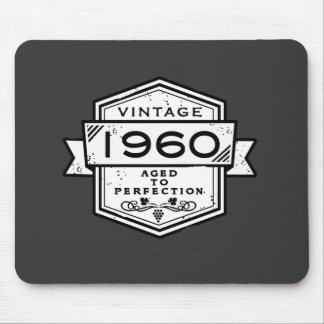 1960 Aged To Perfection Mouse Pad