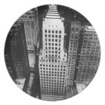 1960:  An aerial view of a Chicago skyscraper Plates