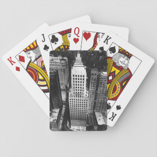 1960:  An aerial view of a Chicago skyscraper Playing Cards