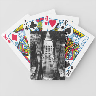 1960:  An aerial view of a Chicago skyscraper Bicycle Playing Cards