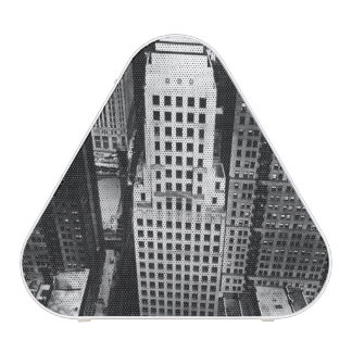 1960:  An aerial view of a Chicago skyscraper Speaker