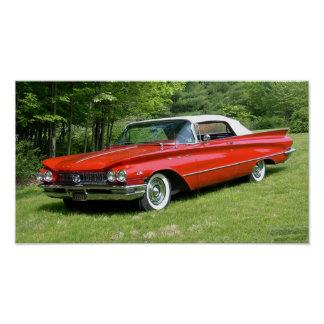 1960 Buick LeSabre Convertible Poster
