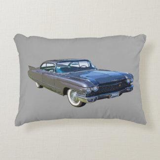 1960 Cadillac Antique Luxury Car Decorative Pillow