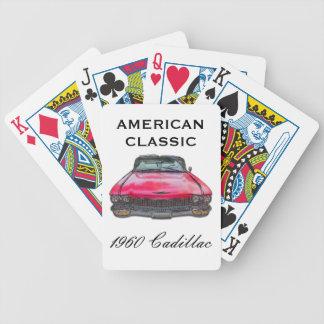 1960 Cadillac Convertible Bicycle Playing Cards