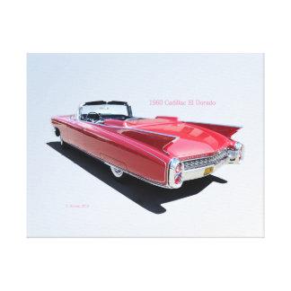 1960 Cadillac El Dorado Stretched Canvas Print