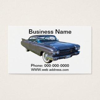 1960 Cadillac Luxury Car Business Card