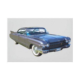 1960 Cadillac Luxury Car Canvas Print