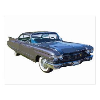 1960 Cadillac Luxury Car Postcard