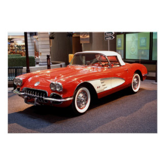 1960 Chevrolet Corvette Print