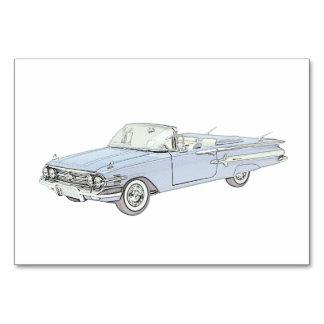 1960 Chevy Impala Card