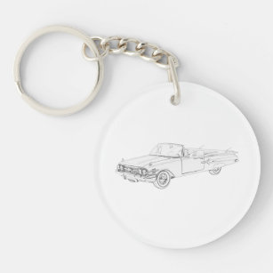 chevy impala keychains lanyards zazzle Hippie Makeup 1960 chevy impala keychain