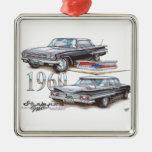 1960 Chevy Impala Sports Sedan Christmas Ornaments