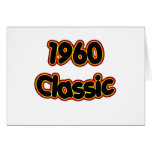 1960 Classic Card