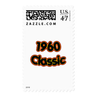 1960 Classic Postage Stamp