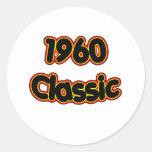 1960 Classic Round Sticker