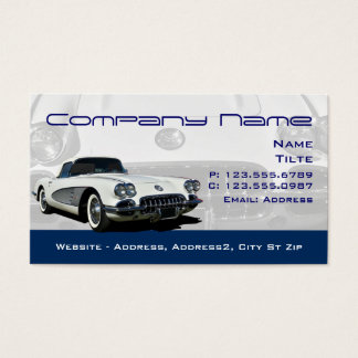 1960 Corvette Business cards
