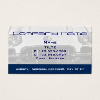 1960 Corvette Front-end Business cards