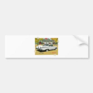 1960_Dodge_White Pegatina Para Auto