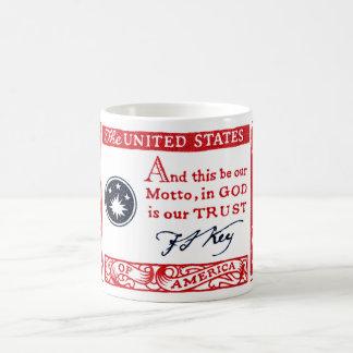 1960 Frances Scott Key American Credo Coffee Mug