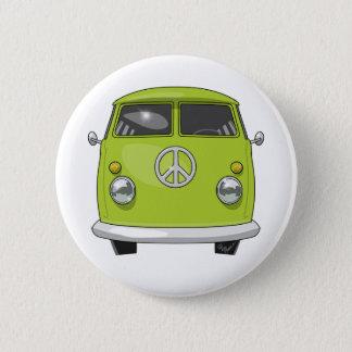 1960 Hippie Van Button