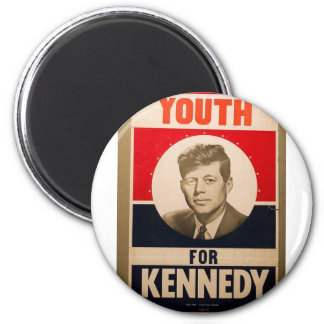 1960 Kennedy 2 Inch Round Magnet