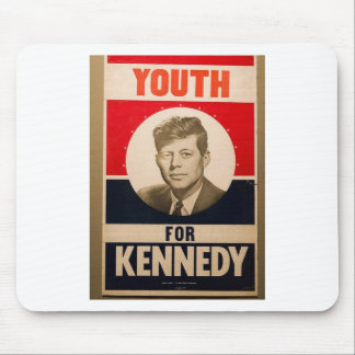 1960 Kennedy Mouse Pad