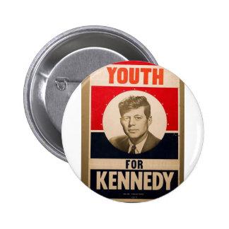 1960 Kennedy Pinback Button